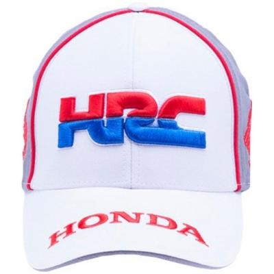 GP APPAREL kšiltovka HRC HONDA white/grey
