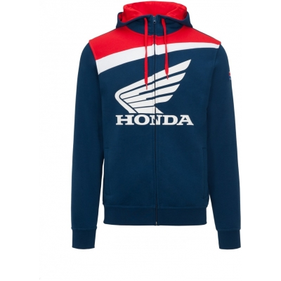 GP APPAREL mikina HRC HONDA WING blue