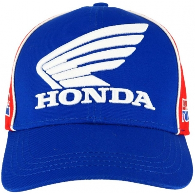 GP APPAREL šiltovka HRC HONDA blue/red