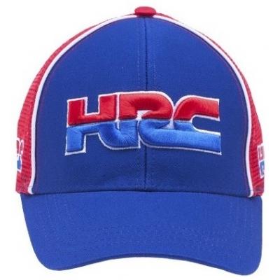 GP APPAREL kšiltovka HRC HONDA Trucker red/blue