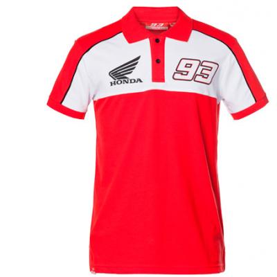 GP APPAREL polotriko HONDA MARQUEZ red/white