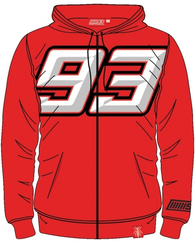 GP APPAREL mikina MM93 red