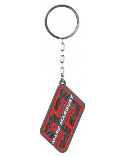 GP APPAREL kľúčenka MM93 Marquez red / grey