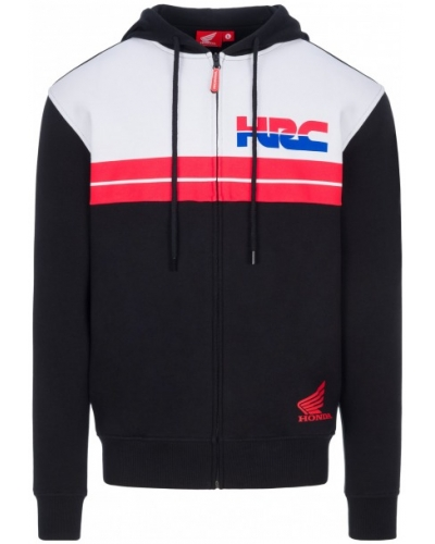GP APPAREL mikina HRC HONDA Logo black/red/white