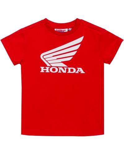 GP APPAREL triko HRC HONDA WING dětské red