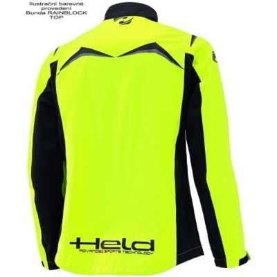 HELD bunda nepromok RAINBLOCK TOP fluo yellow