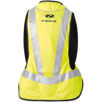 HELD airbagová vesta AIR VEST black/fluo yellow