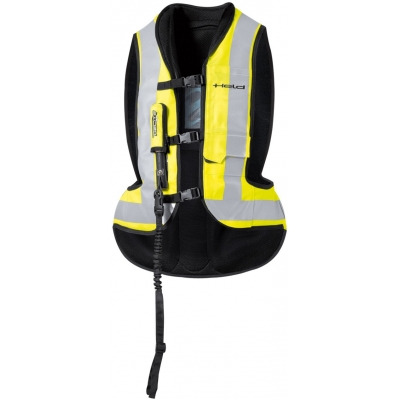 HELD airbagová vesta AIR VEST black/fluo yellow