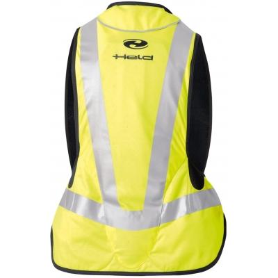 HELD airbagová vesta AIR VEST Big black/fluo yellow