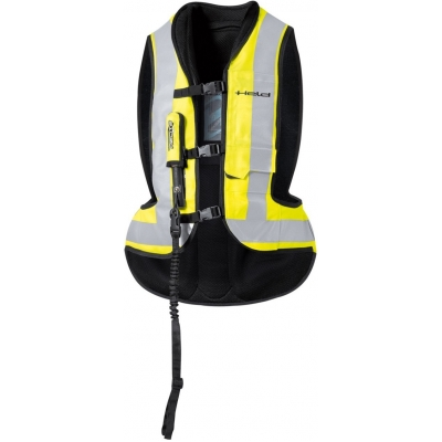 HELD airbagová vesta AIR VEST Big black/fluo yellow