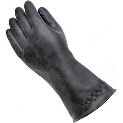 HELD návleky na rukavice OVER-GLOVE latex black