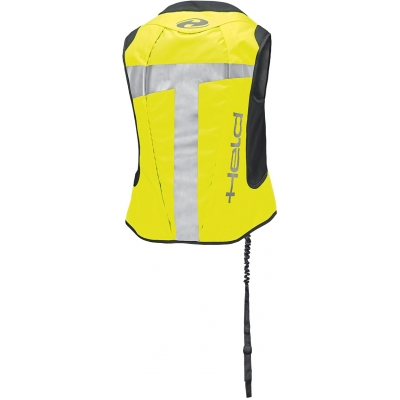 HELD airbagová vesta AIR VEST II black / fluo yellow