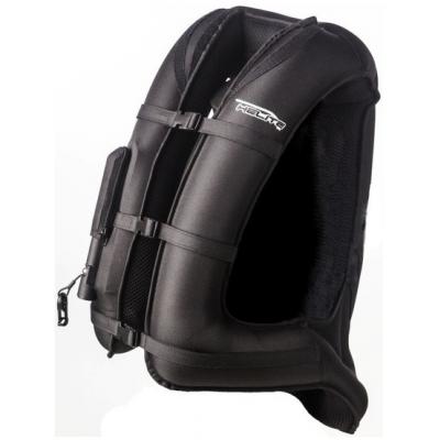 HELITE airbagová vesta TURTLE Long černá