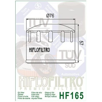 HIFLO olejový filter HF165