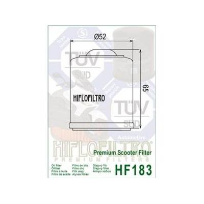 HIFLO olejový filtr HF183
