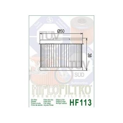 HIFLO olejový filtr HF113