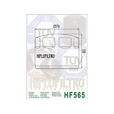 HIFLO olejový filtr HF565