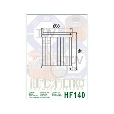 HIFLO olejový filtr HF140
