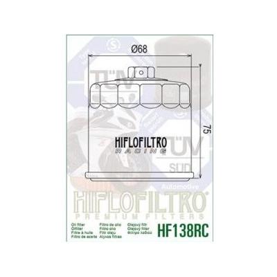 HIFLO olejový filter HF138RC