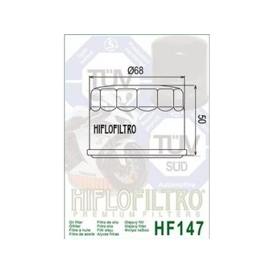 HIFLO olejový filter HF147
