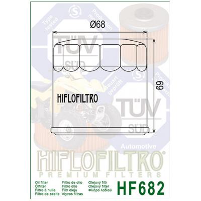 HIFLO olejový filtr HF682