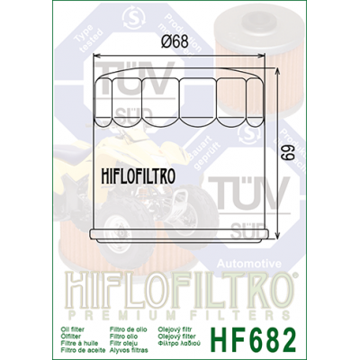 HIFLO olejový filter HF682