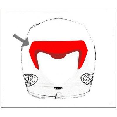 HJC ventilace RPHA 90 Zadní Rabrigo MC2SF