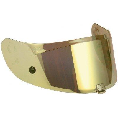 HJC plexi HJ-31 Pinlock iridium gold