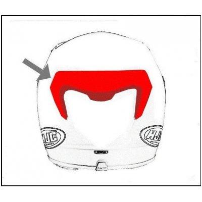 HJC ventilace F70 Zadní pearl white