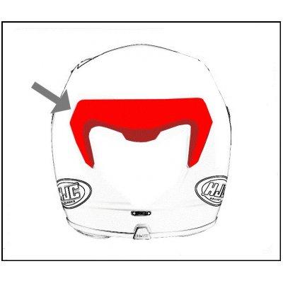 HJC ventilace RPHA ST Zadní metal black