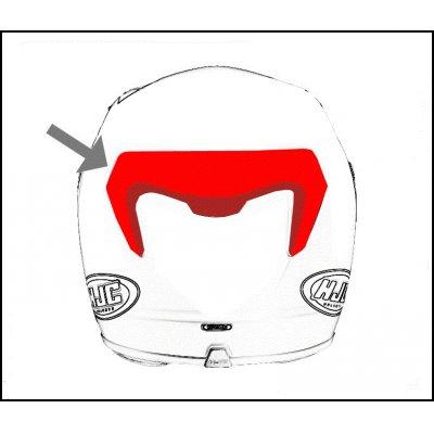 HJC ventilace CL-Y Zadní white