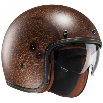 HJC přilba FG-70S VINTAGE Semi brown