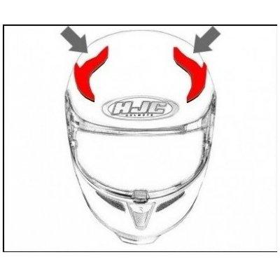 HJC ventilace RPHA 11 Horní semi black