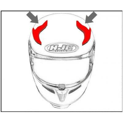 HJC ventilácia FG-ST Horná Bolt MC1