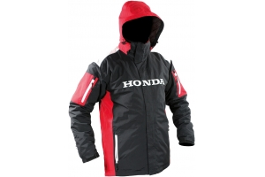 HONDA bunda PARKA RACING 2v1 12 black/white/red