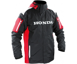 HONDA bunda PARKA RACING 2v1 12 black/white/red