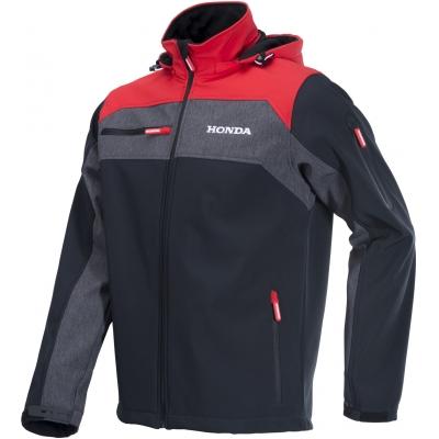 HONDA bunda SOFTSHELL CORPO 19 black/red/grey