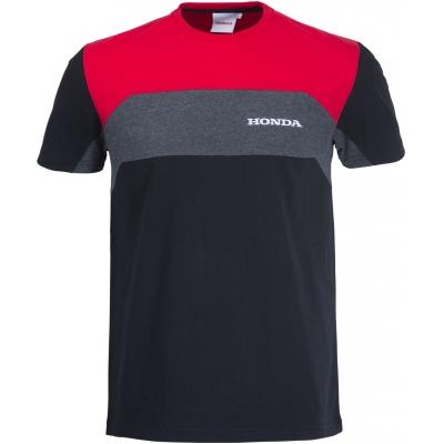 HONDA triko CORPO 19 black/red/grey