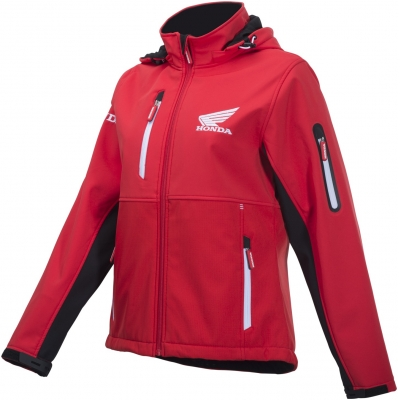 HONDA bunda RACE SOFTSHELL 19 dámská red