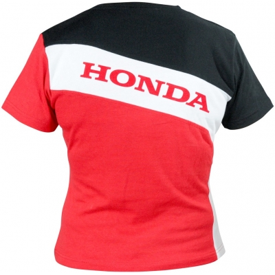 HONDA triko RACING 13 dámské black/white/red