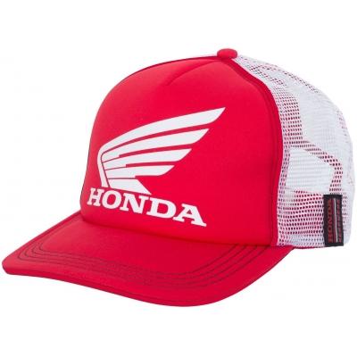 HONDA šiltovka Trucker 19 red / white