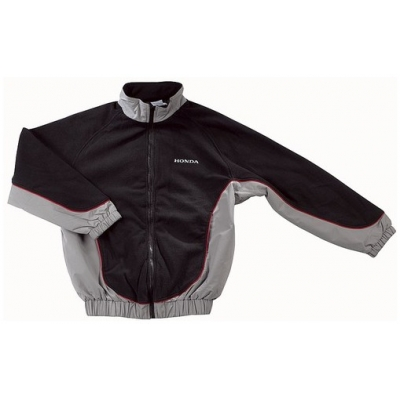 HONDA bunda FLEECE PADDOCK CORPORATE 06 black/grey