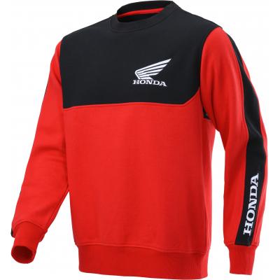 HONDA mikina RACING Sweat 20 black / red