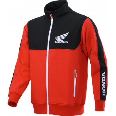 HONDA mikina RACING Cardigan 20 black / red