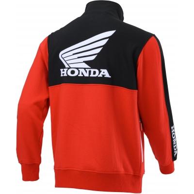 HONDA mikina RACING Cardigan 20 black/red