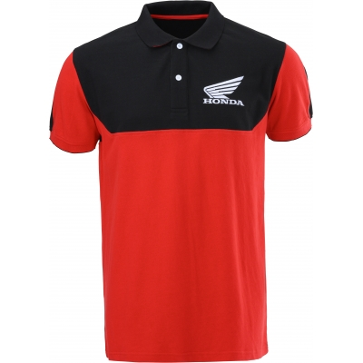 HONDA polo triko RACING 20 black/red