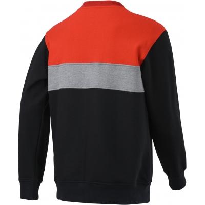 HONDA mikina CORE Sweat 20 black/red/grey