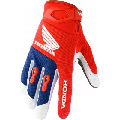HONDA rukavice MX 20 red/blue