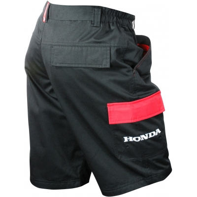 HONDA kraťasy RACING 12 black/red