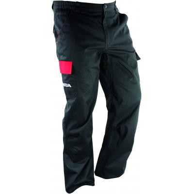 HONDA kalhoty RACING 12 black/red